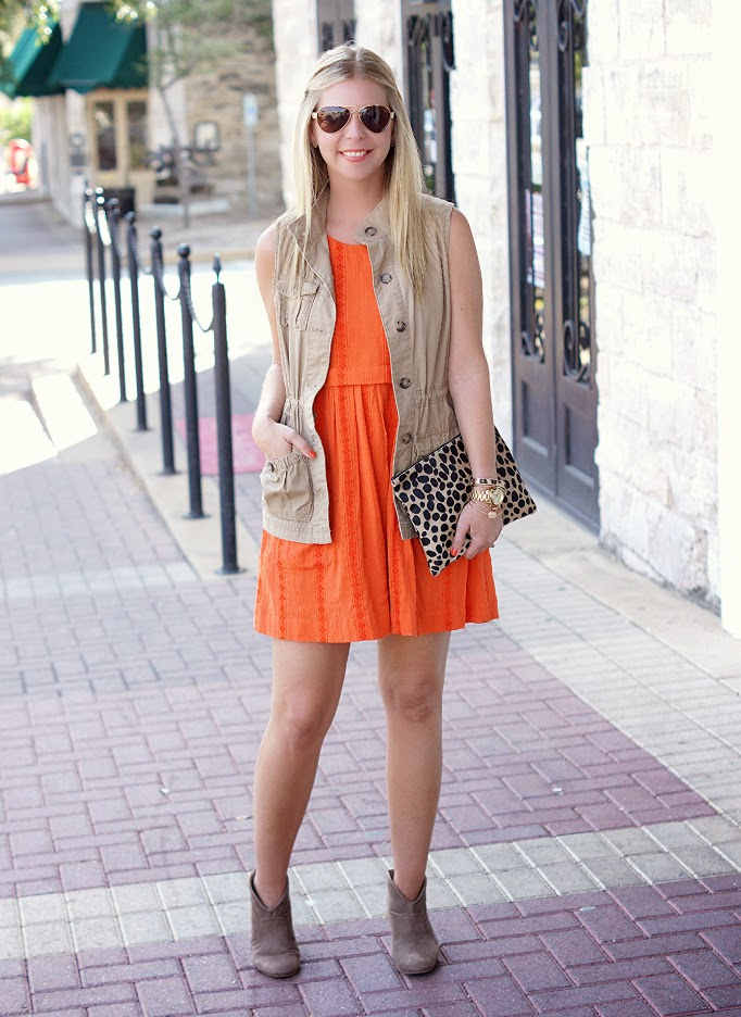 Orange and Tan Outfit Ideas