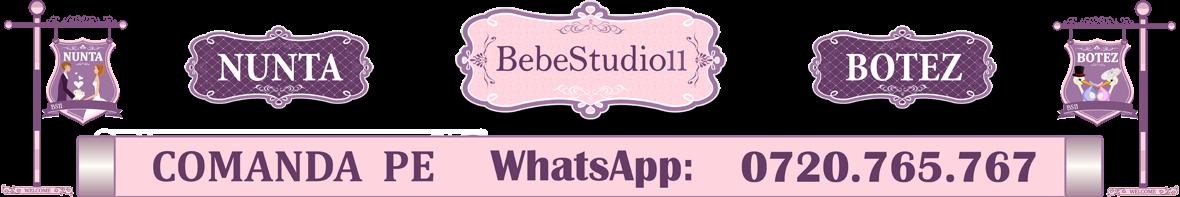 BebeStudio11 - Invitatii si Marturii Nunta - Botez