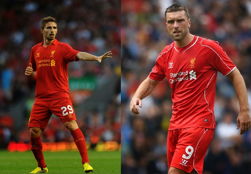 Borini or Lambert: Who should start up-front for the reds with Balotelli?