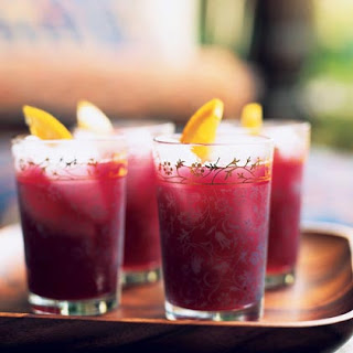 Pomegranate-Honey Coolers Recipes — Dishmaps
