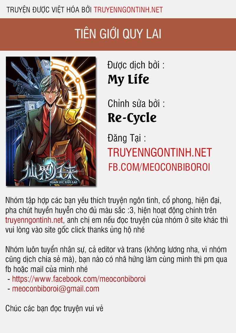 Tiên Giới Quy Lai Chapter 13.5 - upload bởi truyensieuhay.com