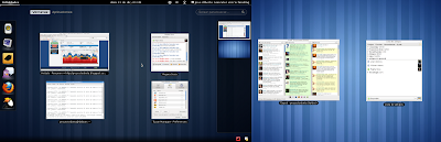 Imagen de Gnome Shell en Debian