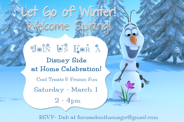 Our #DisneySide Party - Frozen Fun for all ages!