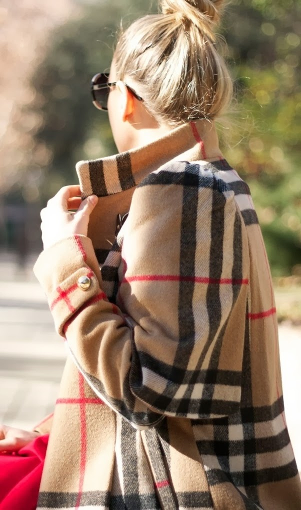 Adorable classic burberry coat fashion trend