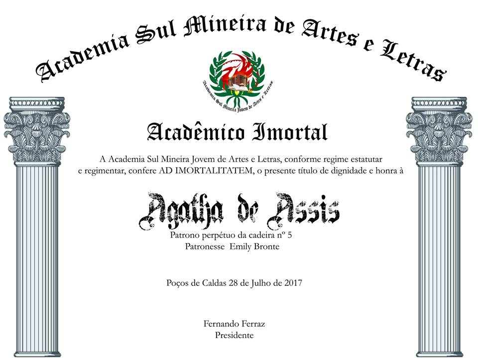 Prêmio Acadêmica Imortal