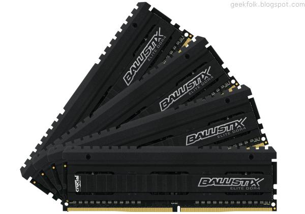 Crucial Ballistix Elite DDR4-2666 32GB (BLE4K8G4D26AFEA)