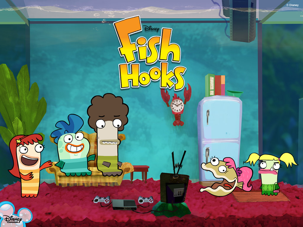 Cool fish hooks image fish wallpapers for Fish hooks disney