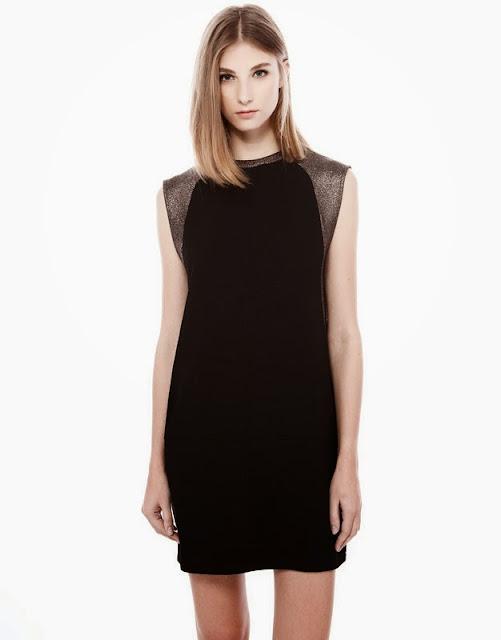 Pull And Bear 2014 Gece Kıyafetleri, siyah gece elbiseleri, 2014 gece elbisesi modelleri, gece elbisesi, kısa elbise modelleri