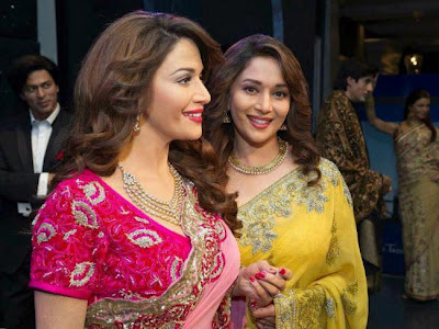 madhuri at madam tussaud