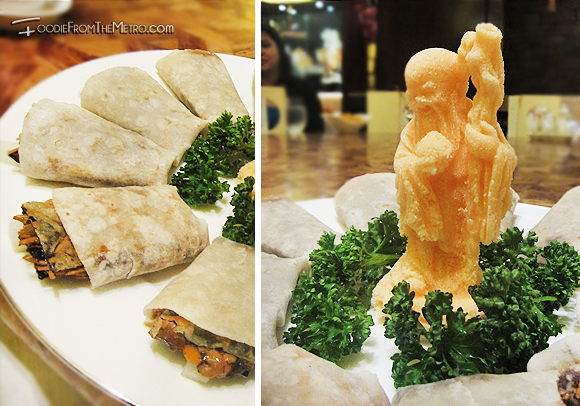 Foodie from the Metro - Mabuhay Palace Vegetarian Menu Beijing Duck Salt Figure