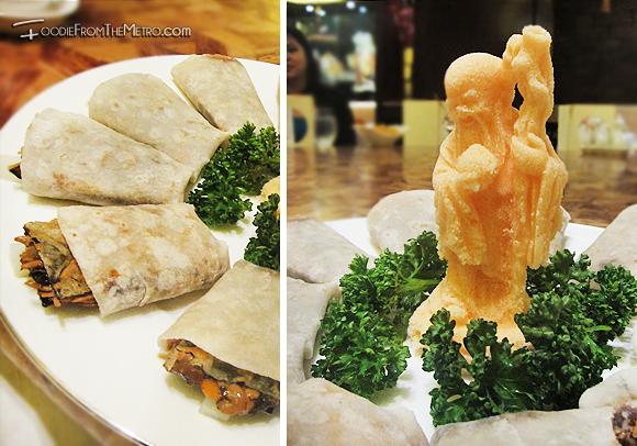 Foodie from the Metro - Mabuhay Palace Vegetarian Menu Beijing Duck Salt Figure