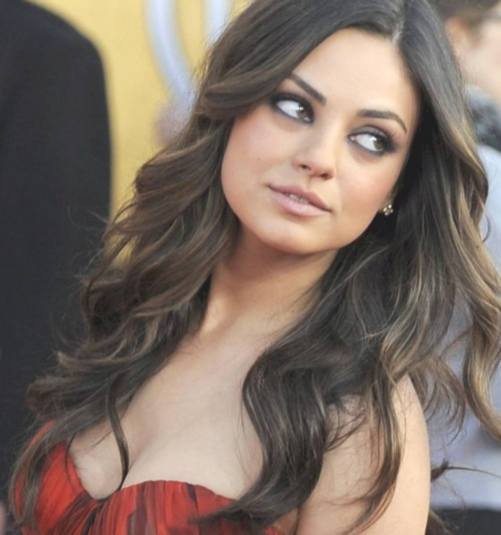 2012 hairstyle trends mila kunis hairstyles from ukraine. Black Bedroom Furniture Sets. Home Design Ideas