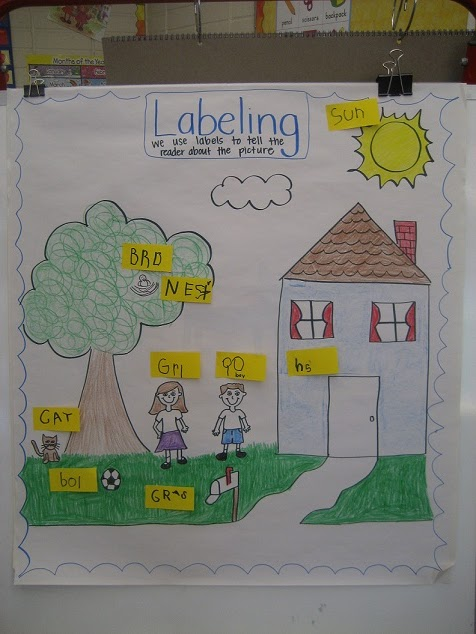 Anchor Charts in Kindergarten http://crazylifeinkinder.blogspot.com/2012/09/anchor-charts-and-circle-maps.html