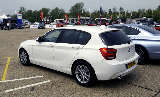 BMW 116d Efficient Dynamics Edition at Millbrook