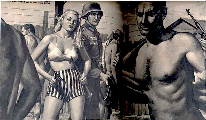 Порно издевательства фашистов над заключенными