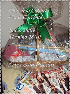 Concurso Cultural no Artes com Paixão