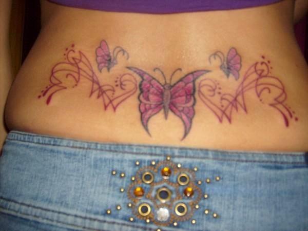 tattoo kupu-kupu