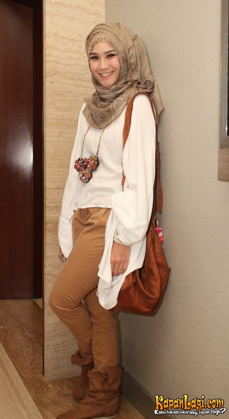 hijab style zaskia adya mecca