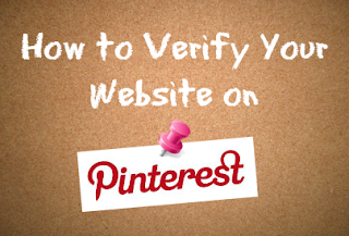 Verify your website with Pinterest