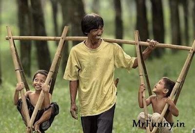 Kids Swing Funny