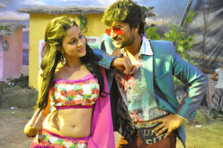 Lavanya Tripathy looks cute in Pink  Style Choli and Paijama for Item Song Bhale Bhale
