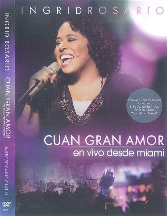Ingrid Rosario Cuan Gran Amor DVD