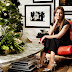 IMTA Alum Jessica Biel shares a gorgeous holiday room!
