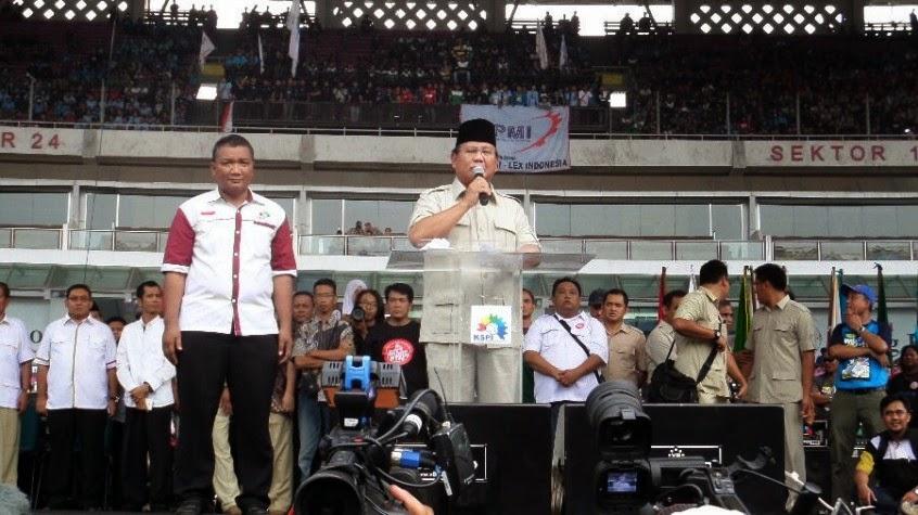 Secara Khusus, Prabowo Temui Gus Mus di Rembang