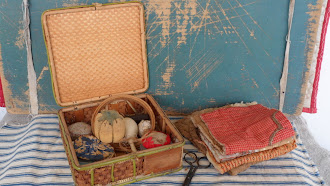 Early Amish Childs Sewing Basket from Lancastor County, PA