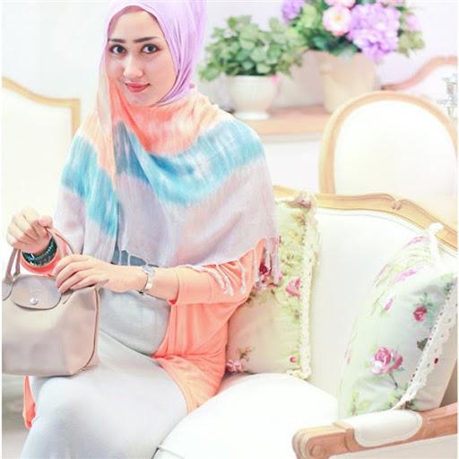 trend model gaya hijab ala dian pelangi terbaru 2015/2016