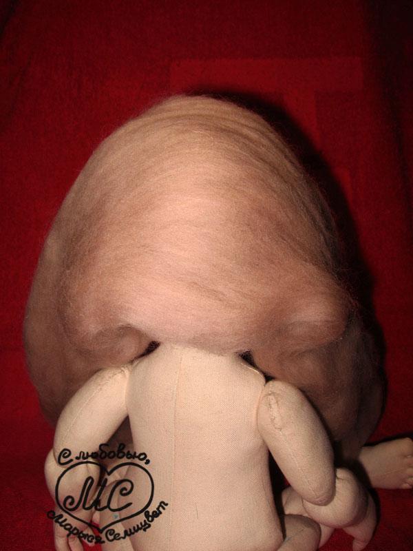 Бабочки в голове: Шерсть + иголки = причёска