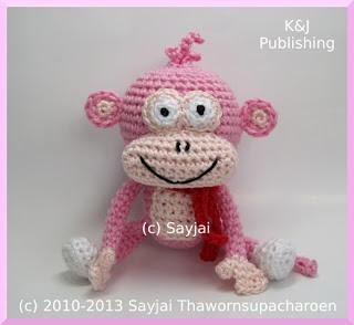 Le Singe Joufflu, Patron Crochet Amigurumi