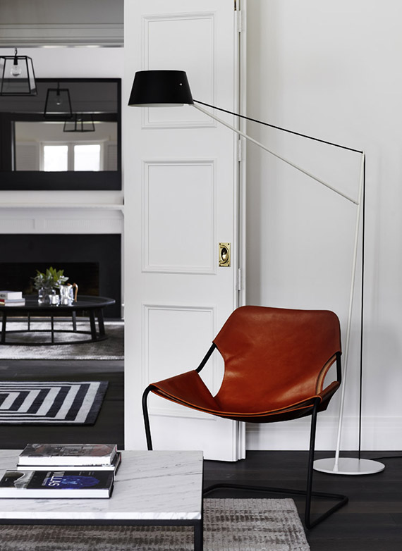 Contemporary classic family home. Design by Robson Rak Architects. Image by Sharyn Cairns via Est Magazine