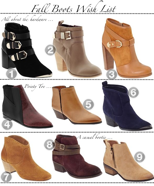 Fall Boots 2013 | Golden Divine Blog