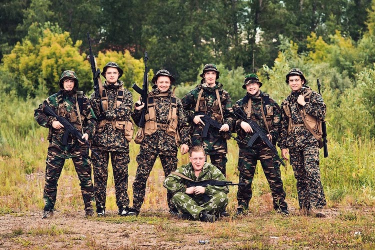Ukraine s army wants you for a holiday