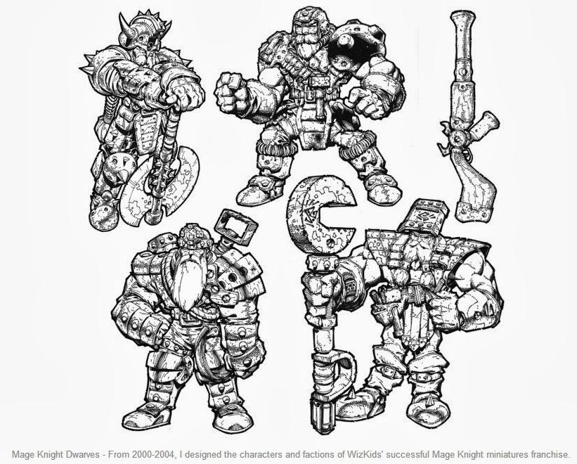 ilustraciones comics y conceptos