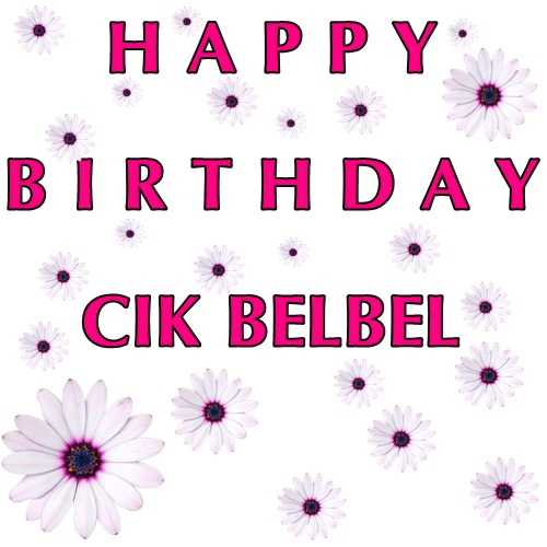 GIVEAWAY CIK BELBEL TURN TO 22th