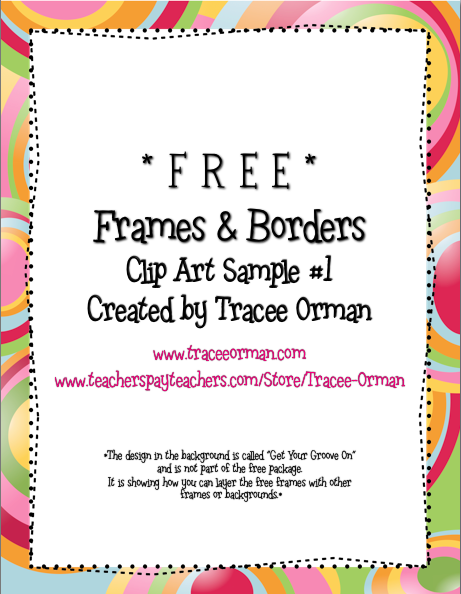 Free Clip Art Borders for Teachers