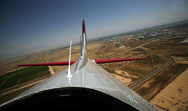 Avião estranho