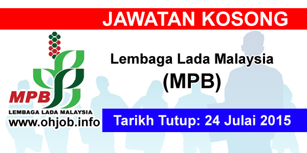 Jawatan Kerja Kosong Lembaga Lada Malaysia (MPB) logo www.ohjob.info julai 2015