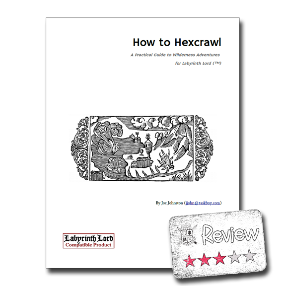 Frugal GM Review: How to Hexcrawl