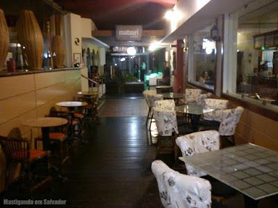 Restaurante Matsuri: Corredor de entrada