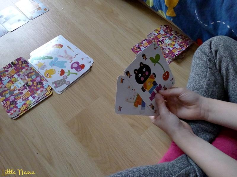 Jugar en familia tiempo de ocio cartas djeco
