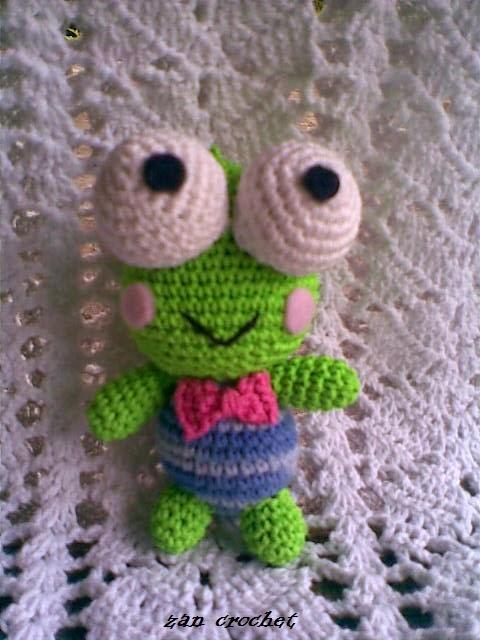 Keroppi ~ Zan Crochet