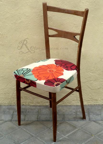 Retroalmacen tienda online de antig edades vintage y - Tapizado de sillas antiguas ...