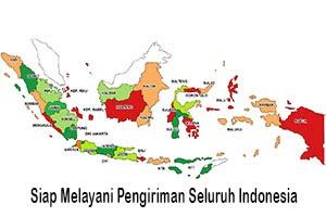 Peta Pengiriman