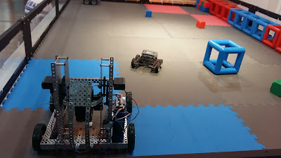 Bengkel Robotik VEX Roboticist di The School