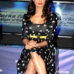 Bipasha Basu Hot Legs Show At The Marks For Sports Campaign Press Meet