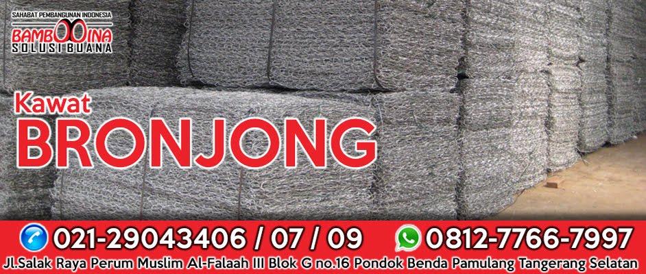 Pabrik Jual Kawat Bronjong