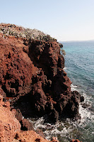 Rabida Islands Red Cliffs